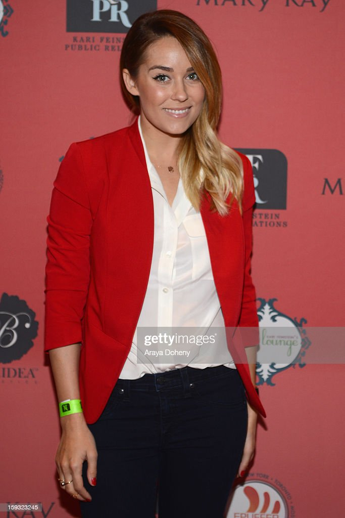 TV personality <a gi-track='captionPersonalityLinkClicked' href=/galleries/search?phrase=Lauren+Conrad&family=editorial&specificpeople=537620 ng-click='$event.stopPropagation()'>Lauren Conrad</a> attends Kari Feinstein's Pre-Golden Globes Style Lounge at the W Hollywood on January 11, 2013 in Hollywood, California.