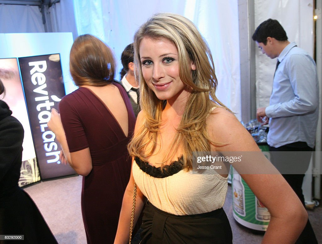 TV Personality Lauren 'Lo' Bosworth attends the Spring 2009 Mercedes-Benz Fashion Week held at Smashbox Studios on October 14, 2008 in Culver City, California.