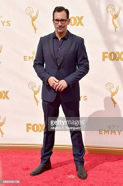 Personality Lawrence Zarian attends the 67th Emmy Awards at Microsoft Theater on September 20 2015 in Los Angeles California 25720_001