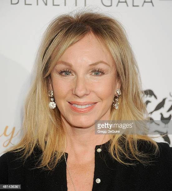TV personality Lea Black arrives at The Humane Society Of The United States 60th anniversary benefit gala at The Beverly Hilton Hotel on March 29...