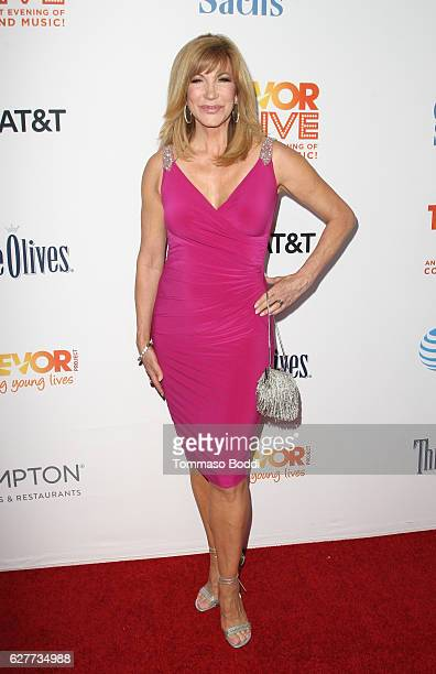 TV personality Leeza Gibbons attends The Trevor Project's 2016 TrevorLIVE LA at The Beverly Hilton Hotel on December 4 2016 in Beverly Hills...
