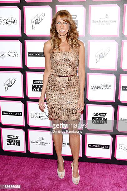 TV personality Lili Estefan attends People En Espanol's 50 Most Beautiful 2013 at Marquee on May 13 2013 in New York City