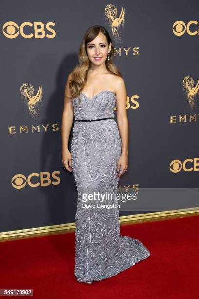 TV personality Lilliana Vazquez attends the 69th Annual Primetime Emmy Awards Arrivals at Microsoft Theater on September 17 2017 in Los Angeles...