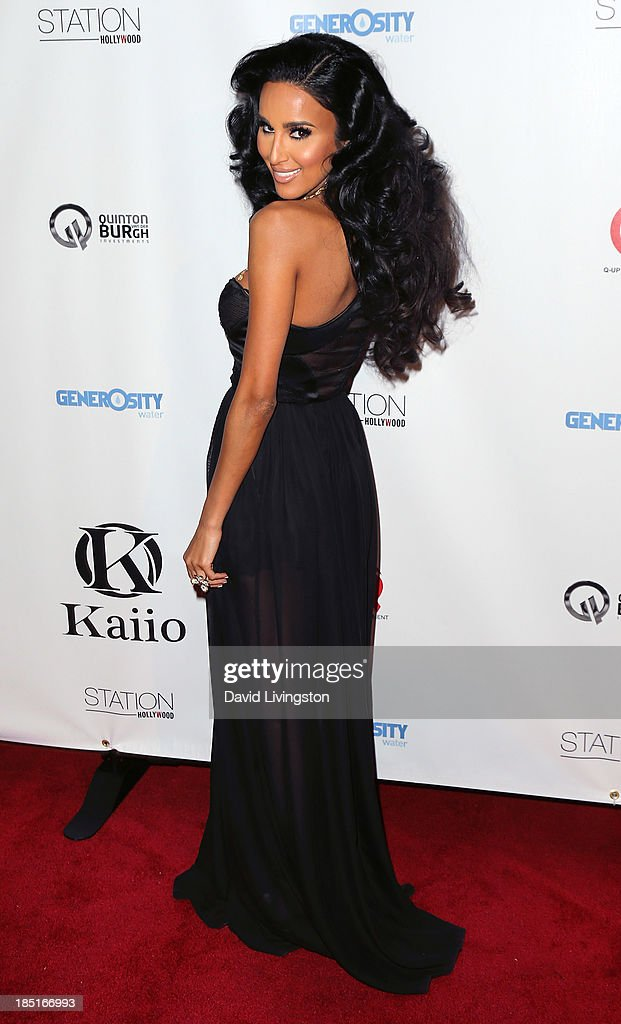 TV personality <a gi-track='captionPersonalityLinkClicked' href=/galleries/search?phrase=Lilly+Ghalichi&family=editorial&specificpeople=8521894 ng-click='$event.stopPropagation()'>Lilly Ghalichi</a> attends the Kaiio's launch event at Station Hollywood at the W Hollywood Hotel on October 17, 2013 in Hollywood, California.