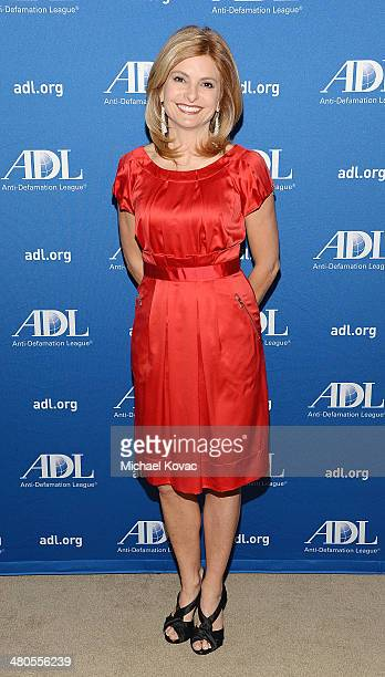 TV personality Lisa Bloom attends the AntiDefamation League 20th Annual Deborah Awards at SLS Hotel on March 19 2014 in Beverly Hills California