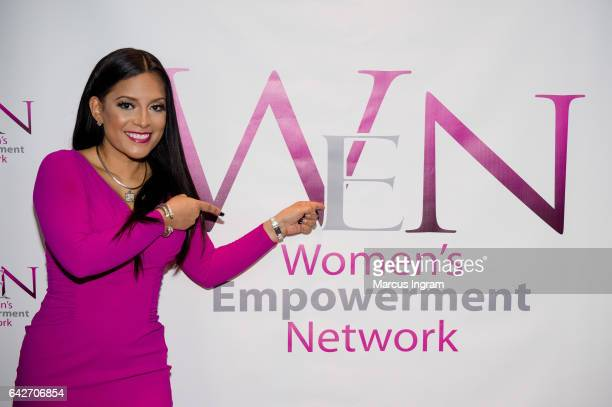 TV personality Lisa Nicole Cloud attends the 2017 WEN VIP day and power brunch at The Westin Peachtree Plaza Hotel on February 18 2017 in Atlanta...