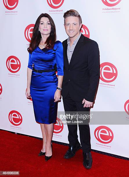 TV personality Lisa Vanderpump and singer Billy Gilman attend the 'Stop Ebola And Build For The Future' concert at United Nations Headquarters on...