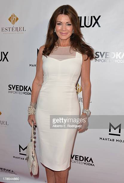 TV personality Lisa Vanderpump arrives to Genlux Magazine's Issue Release party featuring Erika Christensen at The Sofitel Hotel on August 29 2013 in...