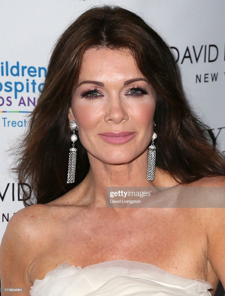 TV personality <a gi-track='captionPersonalityLinkClicked' href=/galleries/search?phrase=Lisa+Vanderpump&family=editorial&specificpeople=6834933 ng-click='$event.stopPropagation()'>Lisa Vanderpump</a> attends a fashion fundraiser benefitting Children's Hospital of Los Angeles hosted by Kyle Richards at Kyle by Alene Too on June 26, 2013 in Beverly Hills, California.