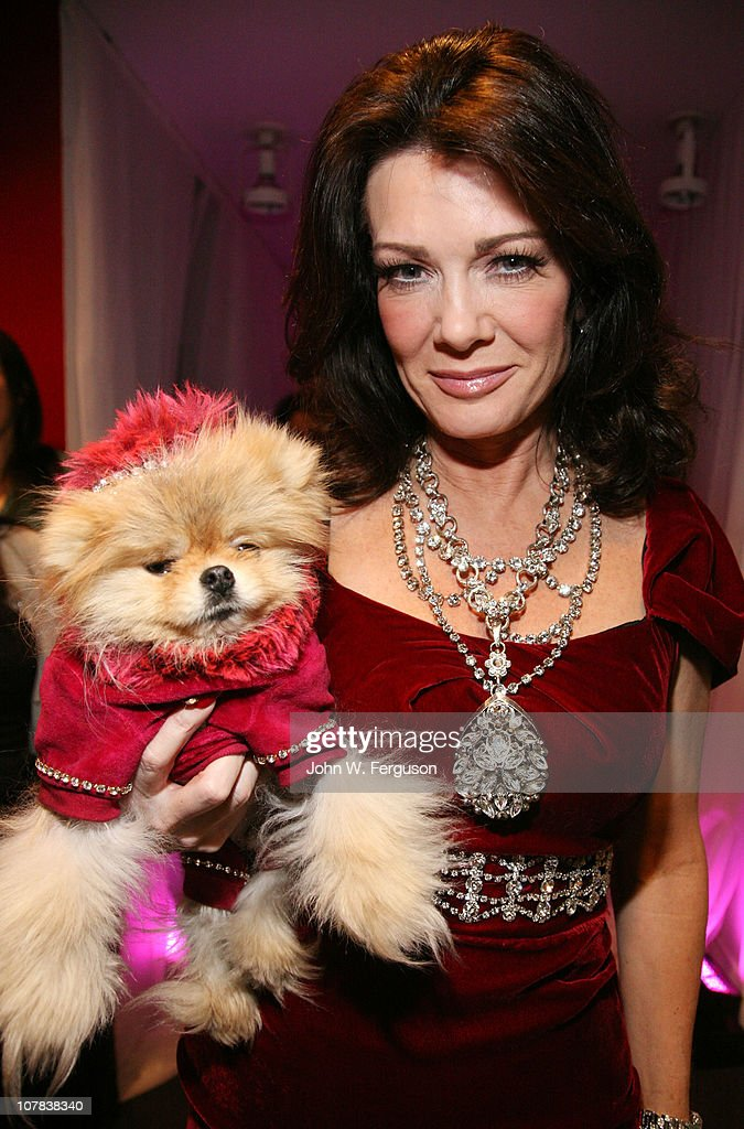TV personality Lisa Vanderpump attends Bravo's 'Watch What Happens Live: Andy's New Year's Party' at the Bravo Club House at the Embassy Row Production Offices on December 31, 2010 in New York City.