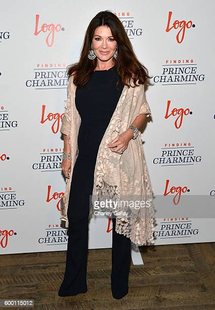 TV personality Lisa Vanderpump attends Logo's 'Finding Prince Charming' Premiere Screening And Reception at HYDE Sunset Kitchen Cocktails on...
