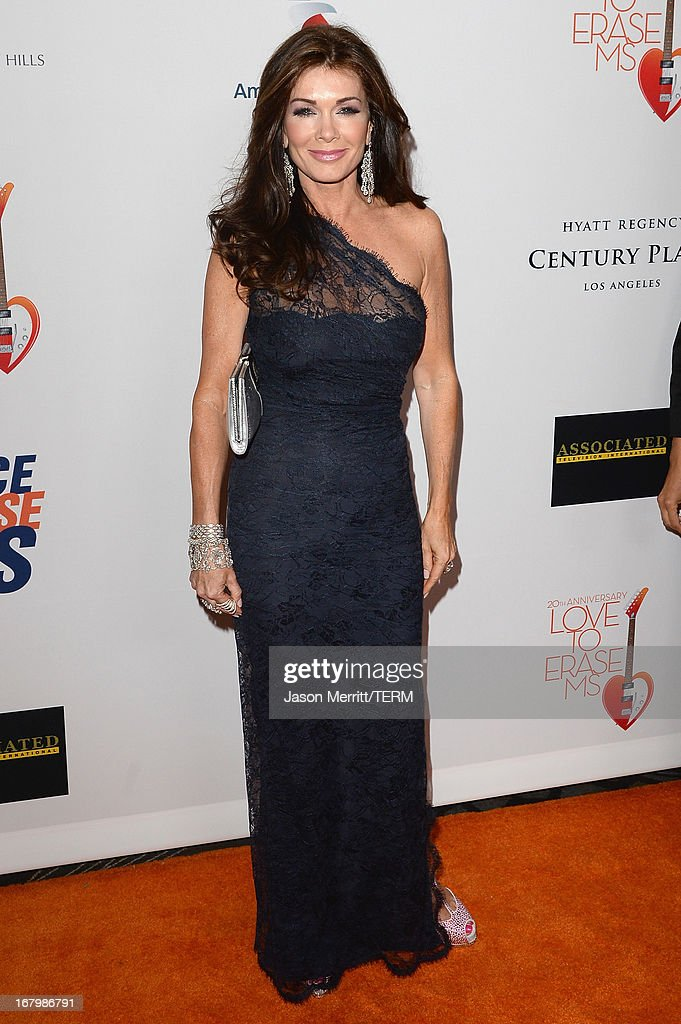 TV Personality Lisa Vanderpump attends the 20th Annual Race To Erase MS Gala 'Love To Erase MS' at the Hyatt Regency Century Plaza on May 3, 2013 in Century City, California.