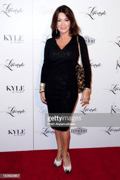 TV personality Lisa Vanderpump attends the Beverly Hills Lifestyle Magazine Fall 2012 Launch Party at Kyle by Alene Too on September 27 2012 in...