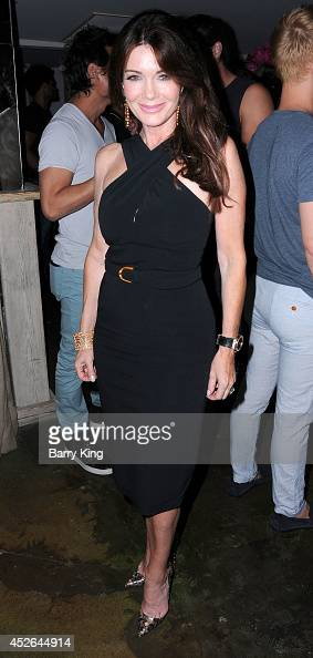 TV personality Lisa Vanderpump attends the DT Model Management 2 Year Anniversary Celebration on July 24 2014 at Pump in West Hollywood California