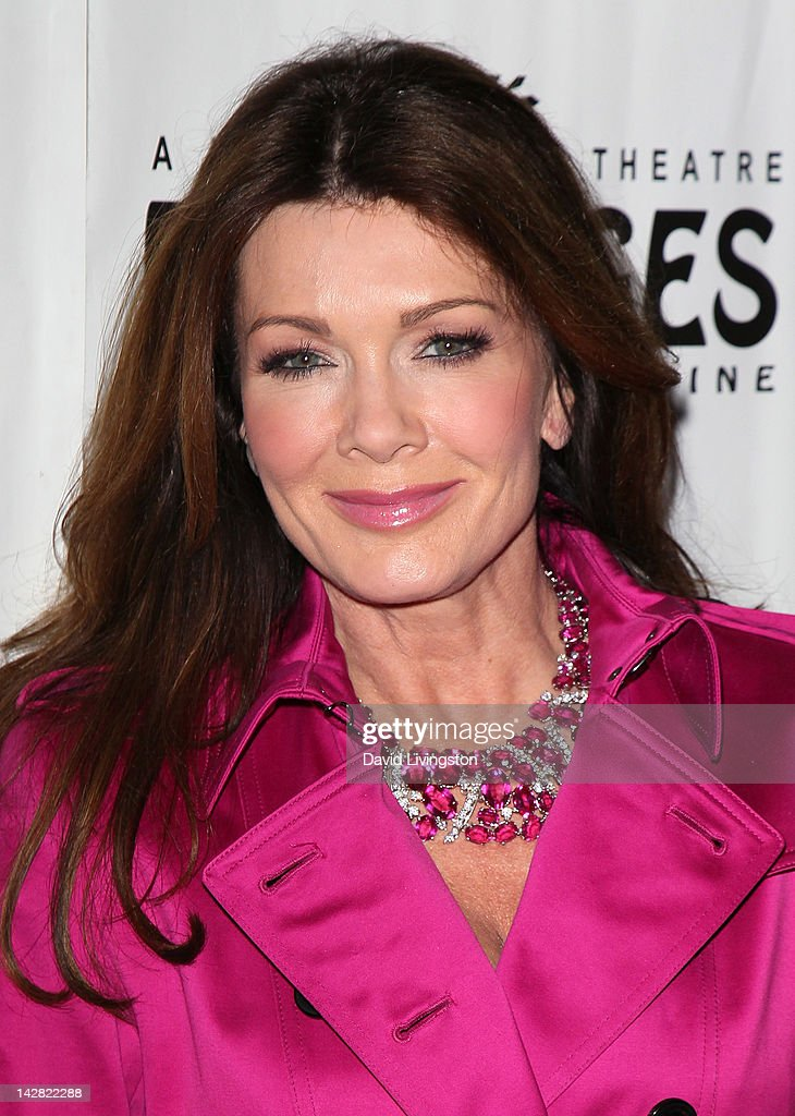 TV personality <a gi-track='captionPersonalityLinkClicked' href=/galleries/search?phrase=Lisa+Vanderpump&family=editorial&specificpeople=6834933 ng-click='$event.stopPropagation()'>Lisa Vanderpump</a> attends the opening night of 'Billy Elliot' at the Pantages Theatre on April 12, 2012 in Hollywood, California.