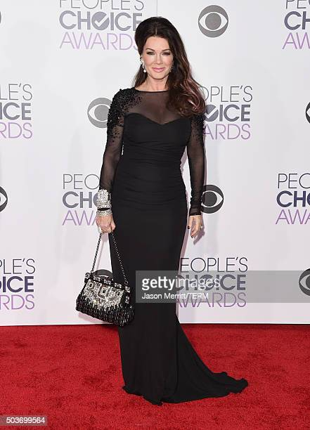 TV personality Lisa Vanderpump attends the People's Choice Awards 2016 at Microsoft Theater on January 6 2016 in Los Angeles California