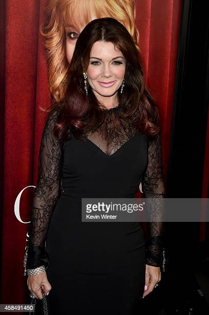 TV personality Lisa Vanderpump attends the premiere of HBO's 'The Comeback' at the El Capitan Theatre on November 5 2014 in Hollywood California