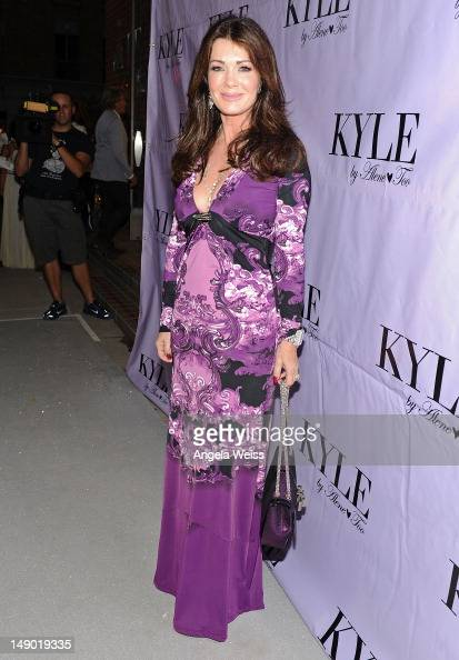 TV personality Lisa Vanderpump attends the preopening cocktail party of Kyle Richards' new boutique 'Kyle By Alene Too' on July 21 2012 in Beverly...