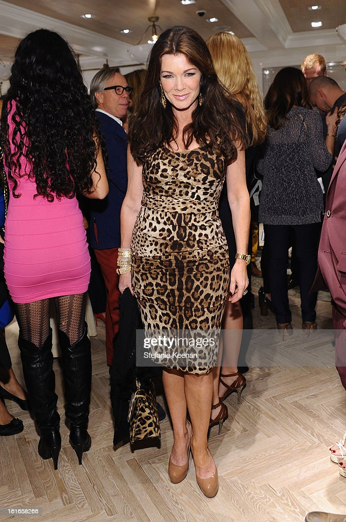 TV personality Lisa Vanderpump attends Tommy Hilfiger New West Coast Flagship Opening on Robertson Boulevard on February 13, 2013 in West Hollywood, California.