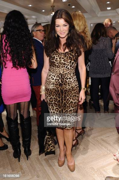 TV personality Lisa Vanderpump attends Tommy Hilfiger New West Coast Flagship Opening on Robertson Boulevard on February 13 2013 in West Hollywood...
