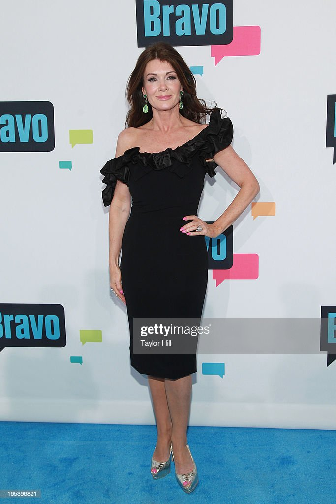 TV personality Lisa Vanderpump of 'The Real Housewives of Beverly Hills' attends the 2013 Bravo Upfront at Pillars 37 Studios on April 3, 2013 in New York City.