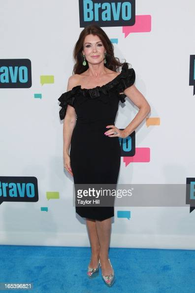 TV personality Lisa Vanderpump of 'The Real Housewives of Beverly Hills' attends the 2013 Bravo Upfront at Pillars 37 Studios on April 3 2013 in New...