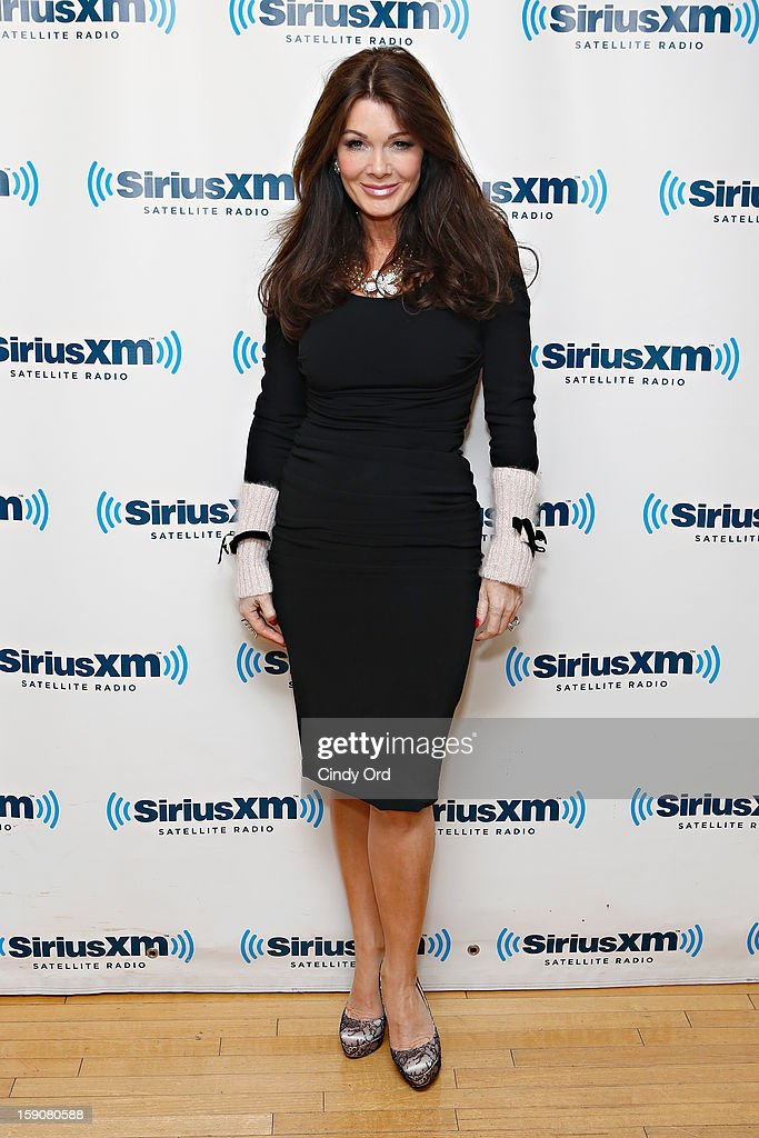 TV personality Lisa Vanderpump visits the SiriusXM Studios on January 7, 2013 in New York City.