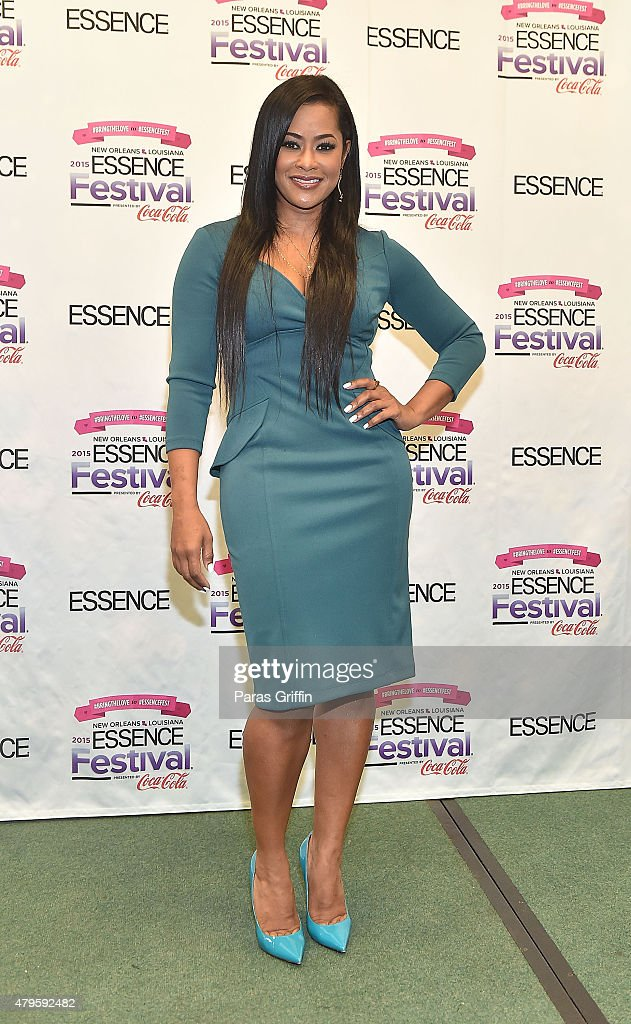 TV personality Lisa Wu attends the 2015 Essence Music Festival on July 5 2015 at Ernest N Morial Convention Center in New Orleans Louisiana
