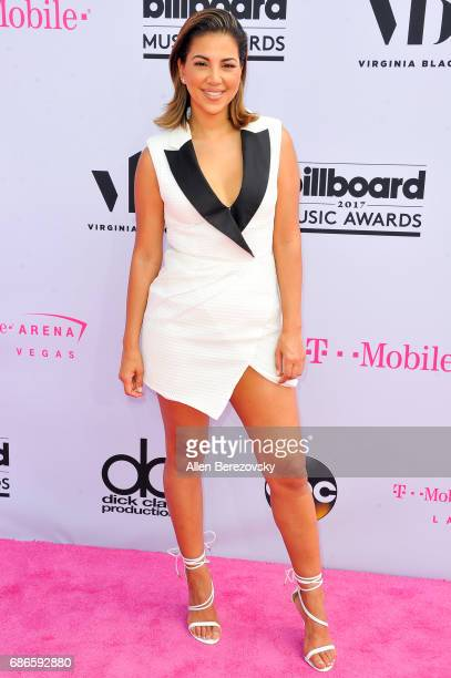 TV personality Liz Hernandez arrives at 2017 Billboard Music Awards at TMobile Arena on May 21 2017 in Las Vegas Nevada