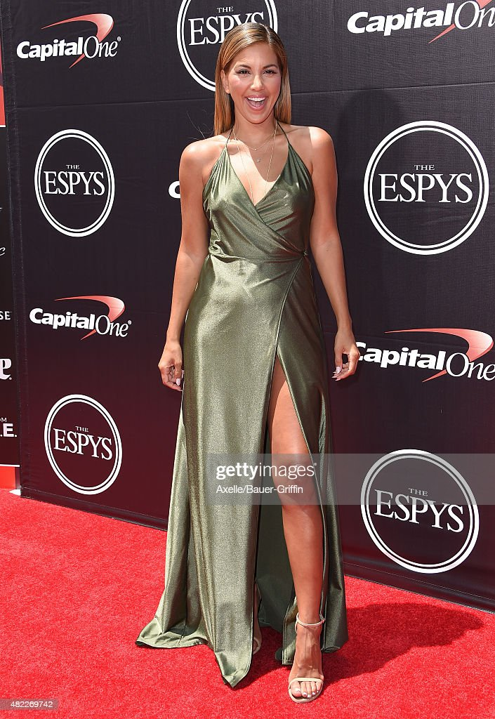 TV personality Liz Hernandez arrives at The 2015 ESPYS at Microsoft Theater on July 15, 2015 in Los Angeles, California.