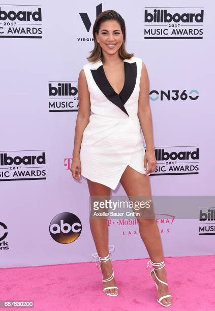 TV personality Liz Hernandez arrives at the 2017 Billboard Music Awards at TMobile Arena on May 21 2017 in Las Vegas Nevada