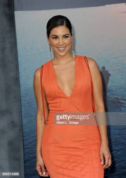 Personality Liz Hernandez arrives for the Premiere Of Warner Bros Pictures' 'Kong Skull Island' held at Dolby Theatre on March 8 2017 in Hollywood...