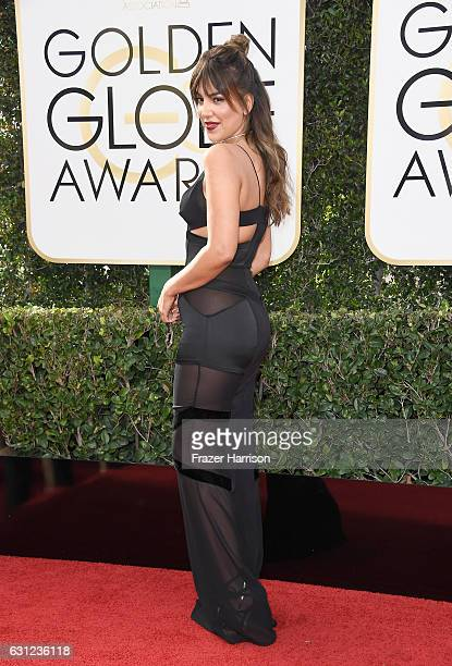 TV personality Liz Hernandez attends the 74th Annual Golden Globe Awards at The Beverly Hilton Hotel on January 8 2017 in Beverly Hills California