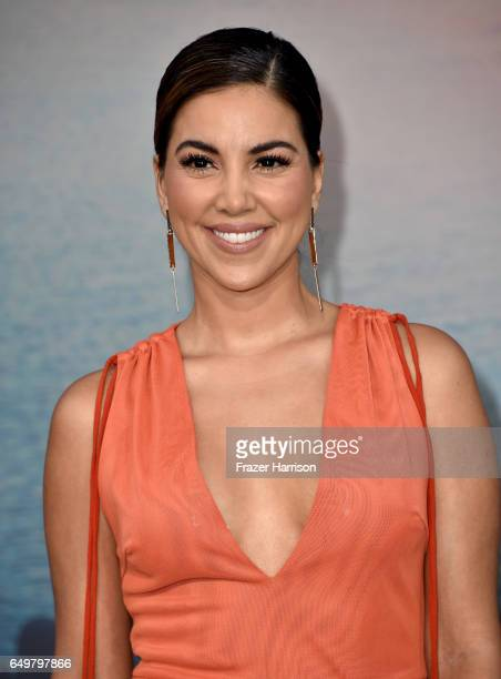 TV personality Liz Hernandez attends the premiere of Warner Bros Pictures' 'Kong Skull Island' at Dolby Theatre on March 8 2017 in Hollywood...