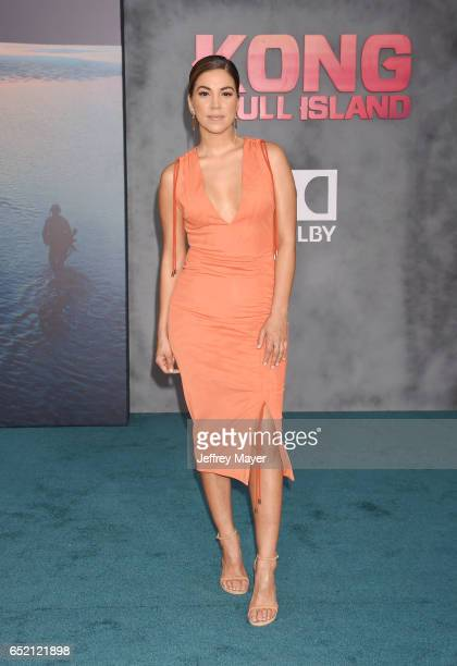 TV personality Liz Hernandez attends the premiere of Warner Bros Pictures' 'Kong Skull Island' at the Dolby Theatre on March 8 2017 in Hollywood...