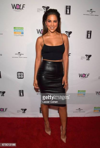 TV personality Liz Hernandez attends Yassy's Butterfly Ball on April 29 2017 in West Hollywood California
