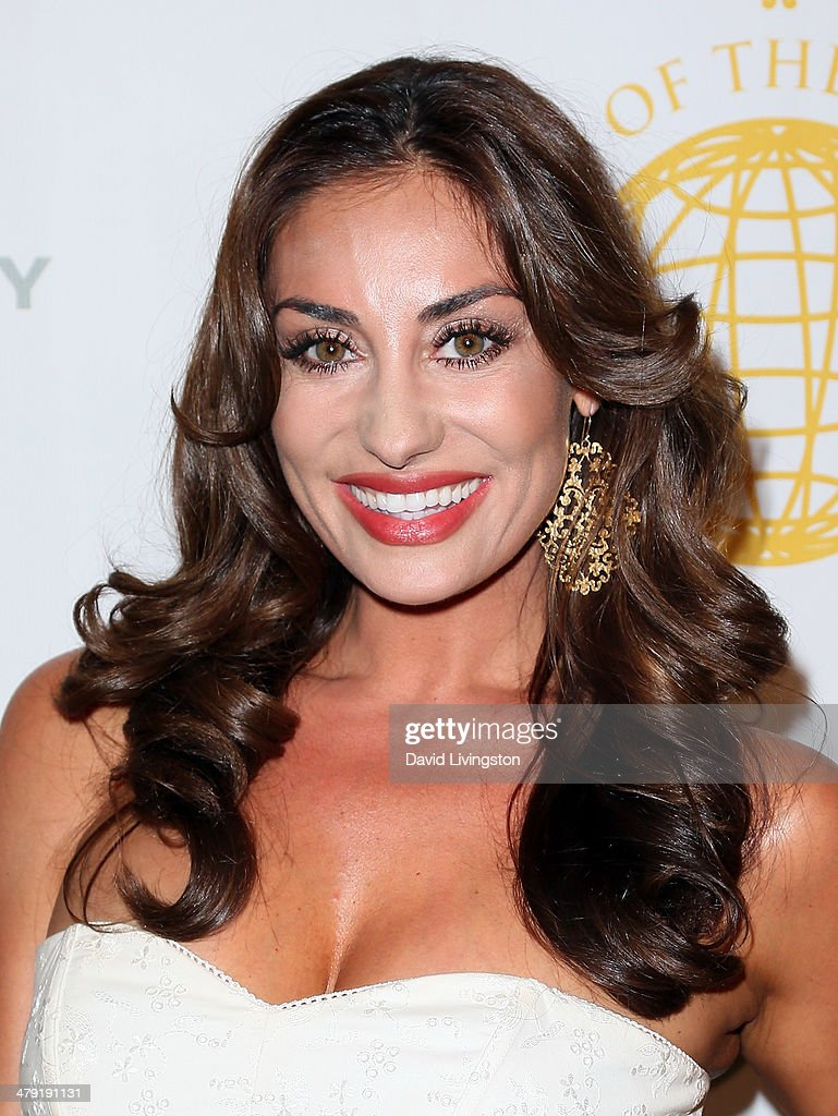 TV personality Lizzie Rovsek attends the Queen of the Universe International Beauty Pageant at the Saban Theatre on March 16, 2014 in Beverly Hills, California.