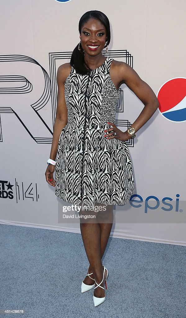 TV personality Lola Ogunnaike attends the 'PRE' BET Awards Dinner hosted by BET Networks' Chairman and CEO Debra L. Lee at Milk Studios on June 28, 2014 in Hollywood, California.