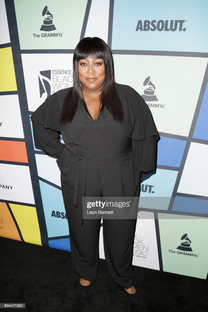 TV personality Loni Love attends 2017 Essence Black Women in Music at NeueHouse Hollywood on February 9, 2017 in Los Angeles, California.