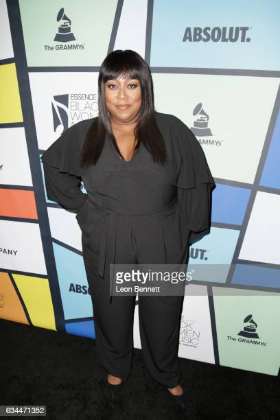 TV personality Loni Love attends 2017 Essence Black Women in Music at NeueHouse Hollywood on February 9 2017 in Los Angeles California