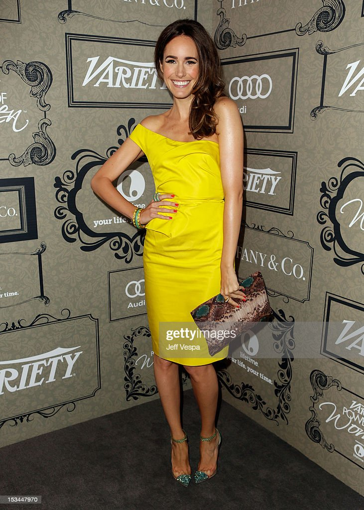 TV Personality Louise Roe arrives at Variety's 4th Annual Power of Women Event Presented by Lifetime at the Beverly Wilshire Four Seasons Hotel on October 5, 2012 in Beverly Hills, California.