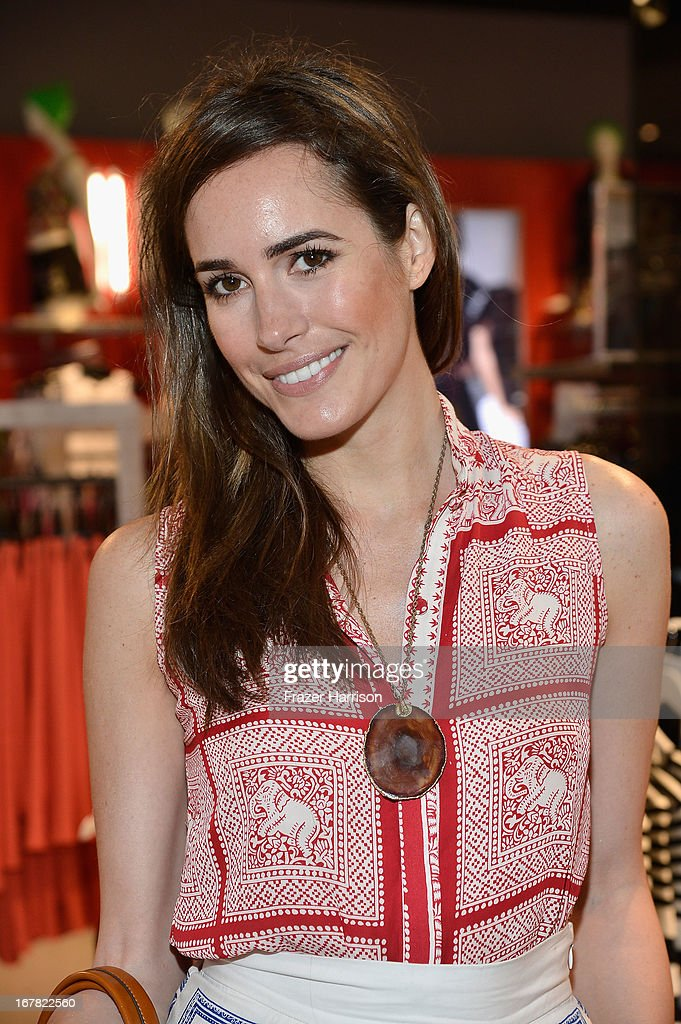 TV personality Louise Roe attends BAFTA Los Angeles and Sir Philip Green Celebrate the British New Wave at Topshop Topman at The Grove on April 30, 2013 in Los Angeles, California.