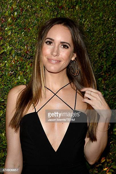 TV personality Louise Roe attends 'Decades of Glamour' presented by BVLGARI on February 25 2014 in West Hollywood California