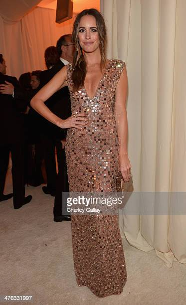 TV personality Louise Roe attends Neuro at the 22nd Annual Elton John AIDS Foundation Academy Awards Viewing Party at The City of West Hollywood Park...