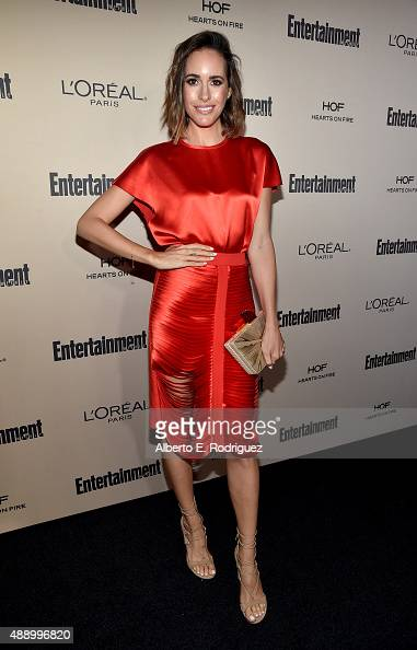 TV personality Louise Roe attends the 2015 Entertainment Weekly PreEmmy Party at Fig Olive Melrose Place on September 18 2015 in West Hollywood...