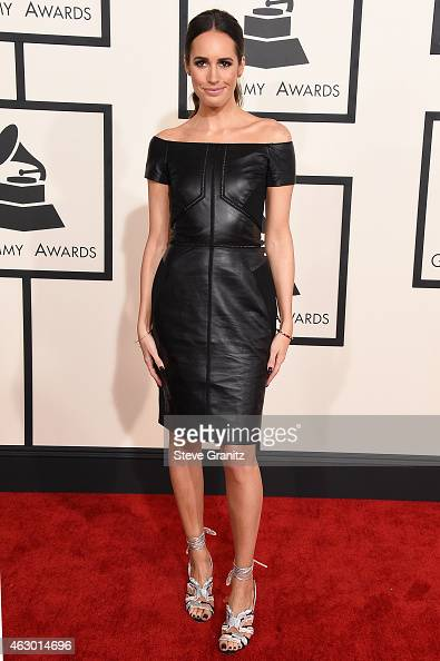 TV personality Louise Roe attends The 57th Annual GRAMMY Awards at the STAPLES Center on February 8 2015 in Los Angeles California