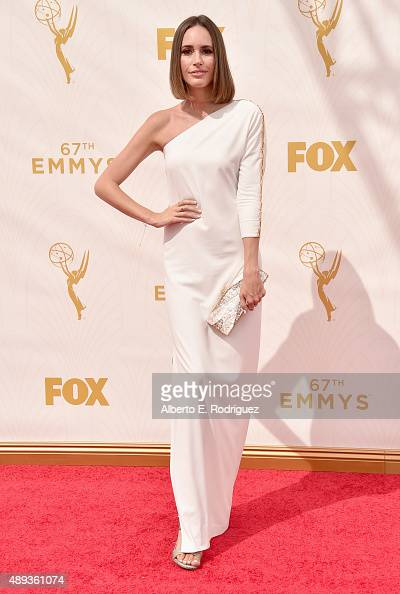 TV personality Louise Roe attends the 67th Emmy Awards at Microsoft Theater on September 20 2015 in Los Angeles California 25720_001