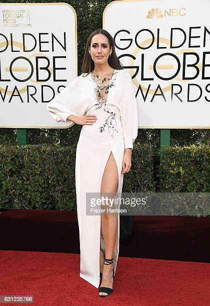TV personality Louise Roe attends the 74th Annual Golden Globe Awards at The Beverly Hilton Hotel on January 8 2017 in Beverly Hills California