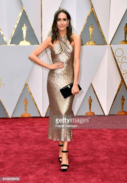 TV personality Louise Roe attends the 89th Annual Academy Awards at Hollywood Highland Center on February 26 2017 in Hollywood California