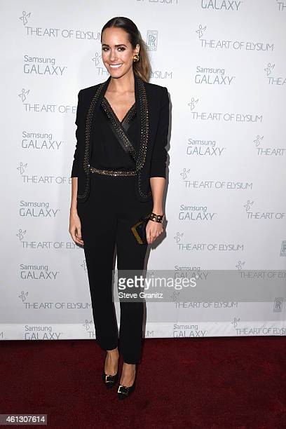 TV personality Louise Roe attends The Art of Elysium 8th Annual Heaven Gala at Hangar 8 on January 10 2015 in Santa Monica California